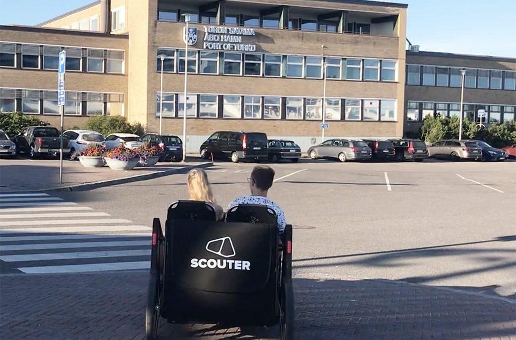 19.9. Scouter testattiin Turussa EU Liikkujan viikko tapahtumassa