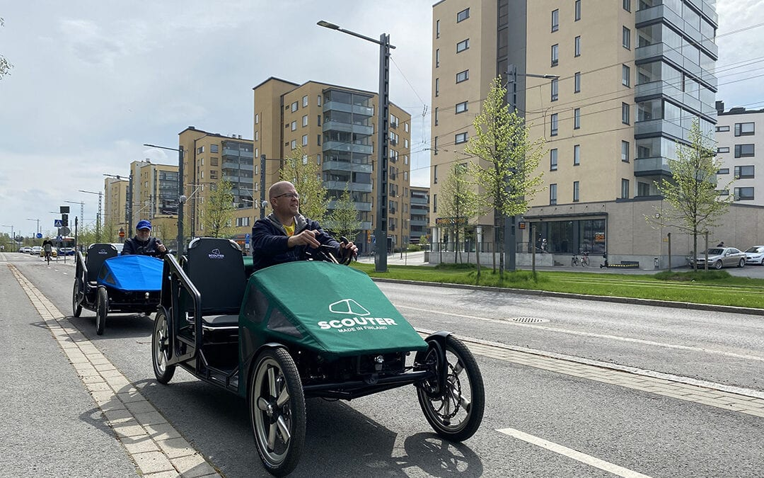 Scouter is Europe's first type-approved motorised bicycle (L1e-A class vehicle)